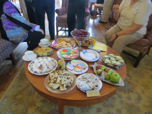 2014 Friends Tea held in the PFL Reading Room.