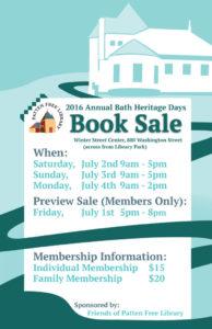 Heritage Days Book Sale 2016!
