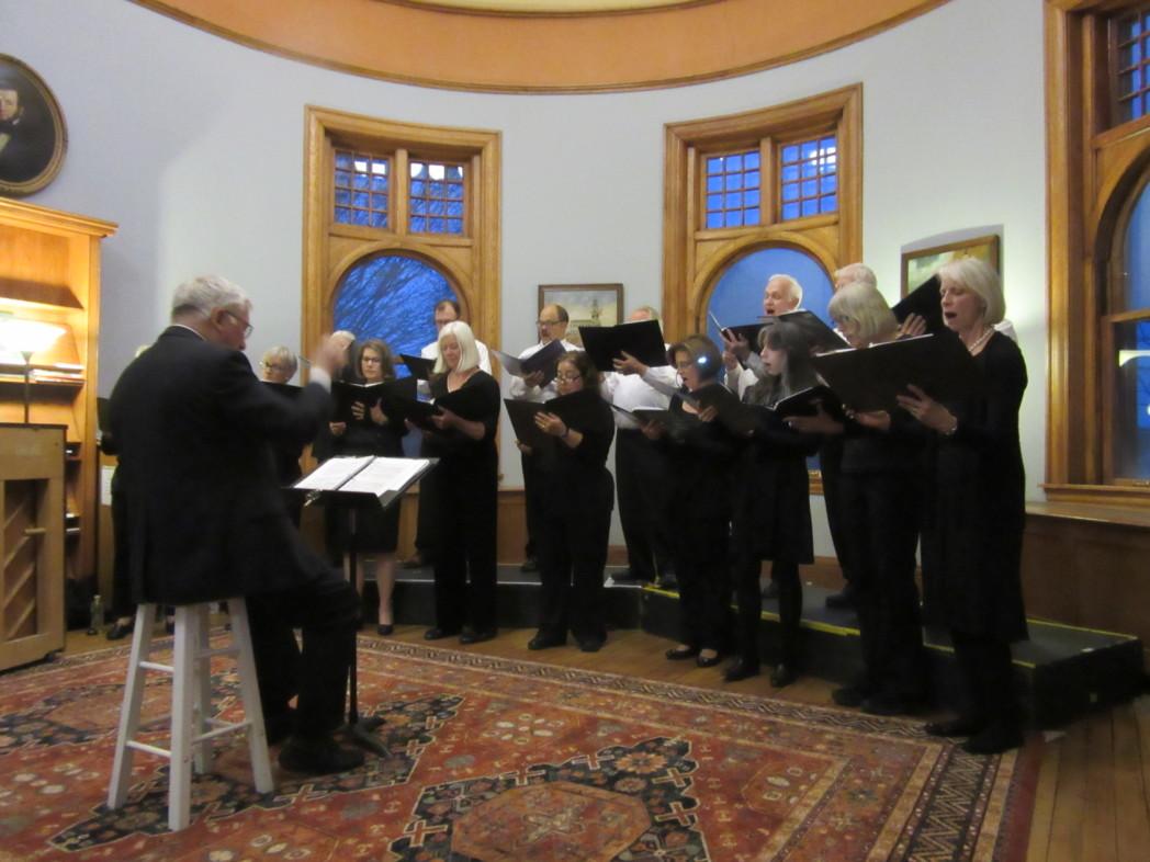 Patten Free Singers Winter Concert · Patten Free Library