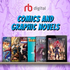 RB Digital Comics and Graphic Novels Logo