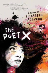 Poet X by Elizabeth Acevedo book cover