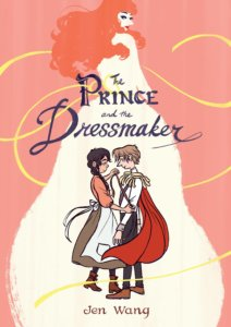 The Prince and the Dressmaker bookcover
