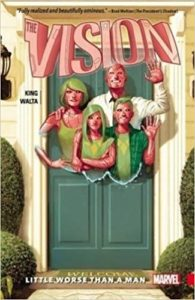 The Vision by Tom King book cover