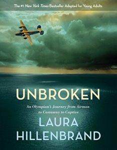 """Book Cover of """"Unbroken"""" by Lauren Hillenbrand"""
